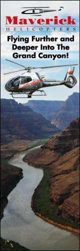 Experience the Grand Canyon fly Maverick - Click Here