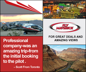 For Deals and Amazing Views with Maverick Helicopter - Click Here