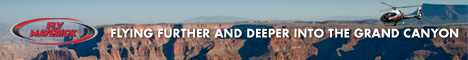 View Grand Canyon tours with Maverick Helicopters - Click Here