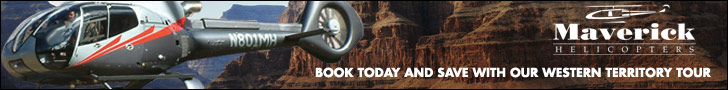 See the West Rim at the canyon with Maverick Helicopters - Click Here