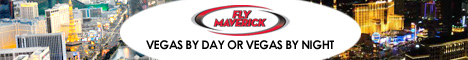 Take a Las Vegas City flight with Maverick Helicopters - Click Here