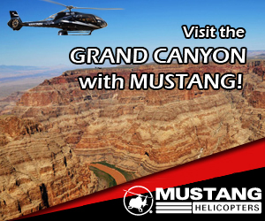 Visit the Grand Canyon with Mustang Helicopters