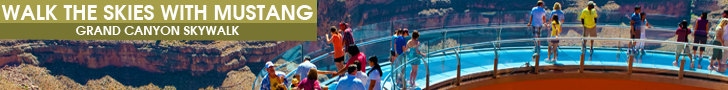 Walk The Skies With Mustang - Grand Canyon Skywalk - Click Here