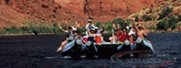 Take a Colorado River rafting adventure and helicopter landing tour.