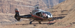 Maverick Helicopters will descend and land 3,500 feet into the Grand Canyon in Hualapai Indian Territory. Champagne, beverages and a light snack will be served some 300 feet above the mighty Colorado River in one of the greatest natural wonders of the world.