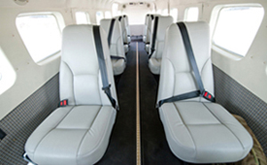 Inside the Cessna Grand Caravan 208
