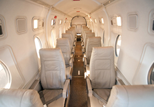Inside the Beechcraft 1900D ExecLiners