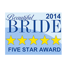 Beautiful Bride's Five Star Award