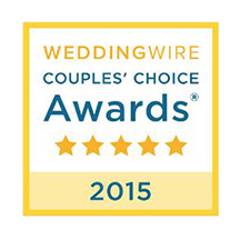 Wedding Wire's Bride's Choice Award