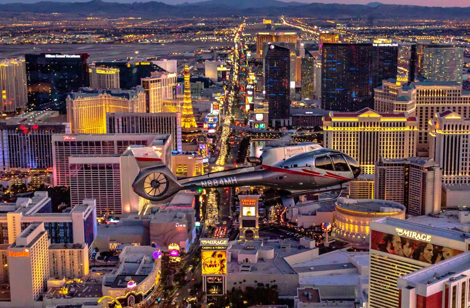 Fly over the Strip with a Las Vegas helicopter tour