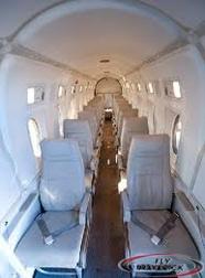 1900D Beechcraft Interior Shot of Maverick Airlines