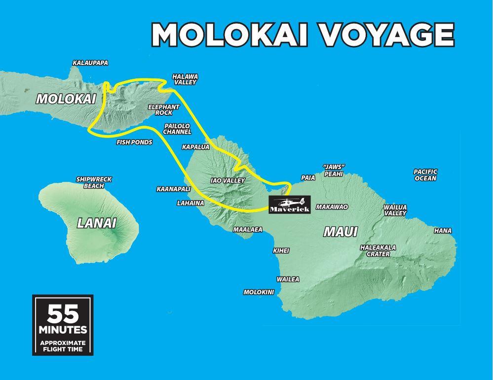 Molokai Voyage Map