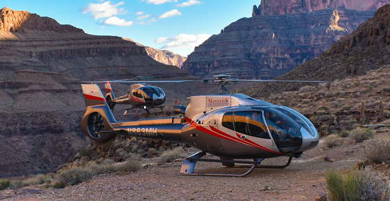 Maverick Helicopter Airline Group Grand Canyon Tours