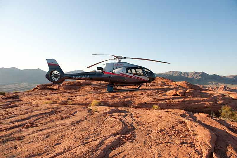 Take a flight to the Valley of Fire for this one-of-a-kind marriage proposal.
