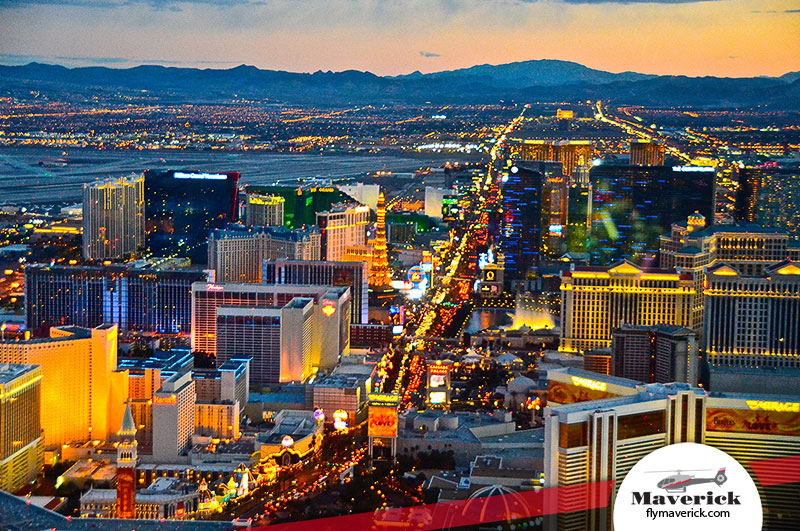 las vegas helicopter proposal package