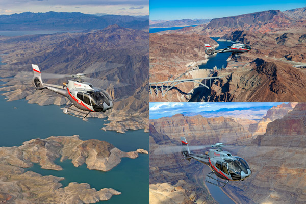 Grand Canyon air and landing tour departing from Vegas