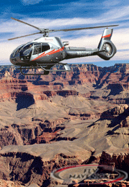 Maverick Helicopter over Grand Canyon