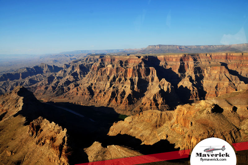 Fly through the Grand Canyon like a bird with Maverick Helicopters.