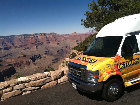 Experience the scenery on grand canyon tours from Las Vegas in our luxurious shuttle
