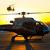Our helicopter transfers shave hours off the commute to and from EDC.