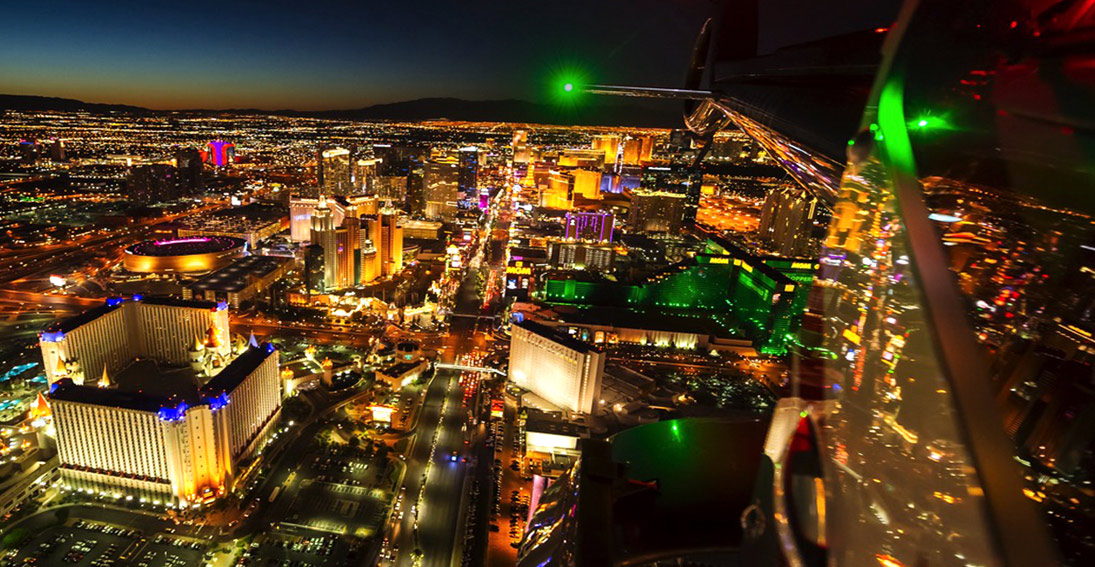 Enjoy a Las Vegas city helicopter tour