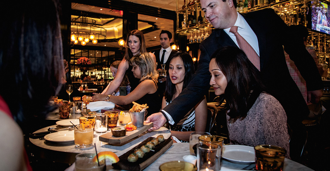 Foodie tour features a visit to four of the top restaurants on the Las Vegas Strip