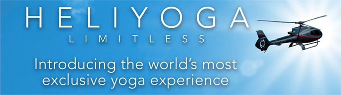 Exclusive HELIYOGA Limitless experience! Book Today!