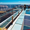 Skywalk walkway.