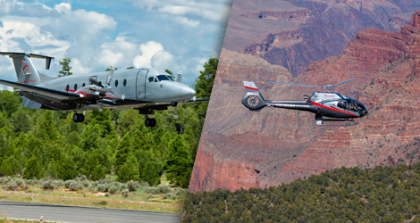 Ultimate Grand Canyon airplane, helicopter and ground tour