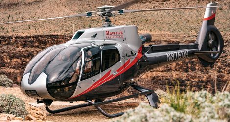 Land 300 feet above the Colorado River on this Grand Canyon helicopter tour