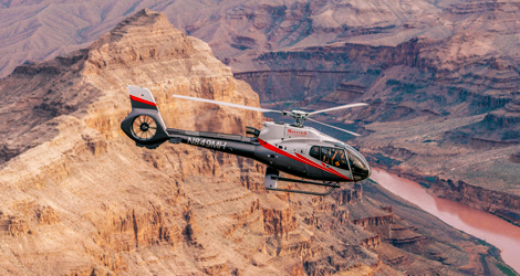 Experience a scenic flight over the Hoover Dam and Lake Mead