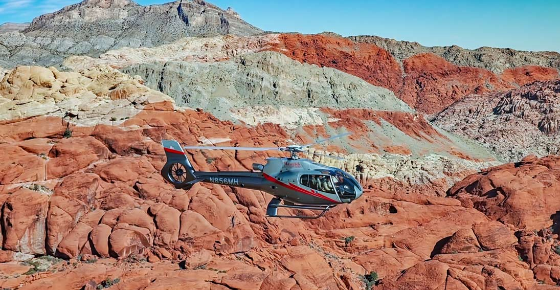 Capture the best views of the Red Rock Canyon