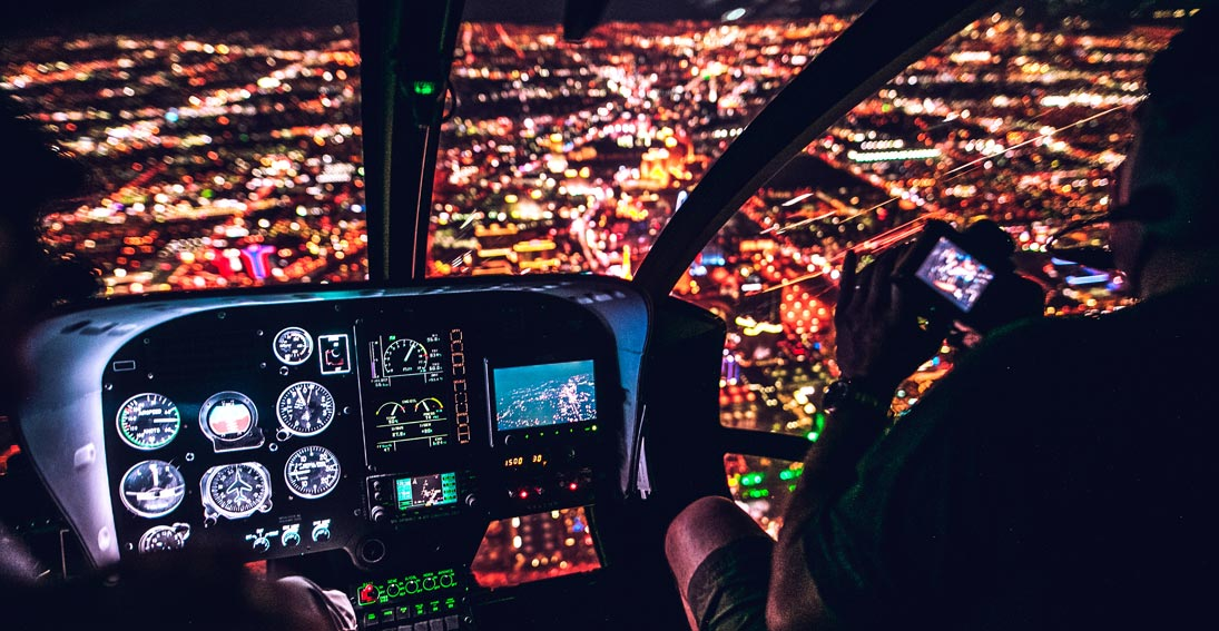 A Vegas night flight the perfect ending foodie tour