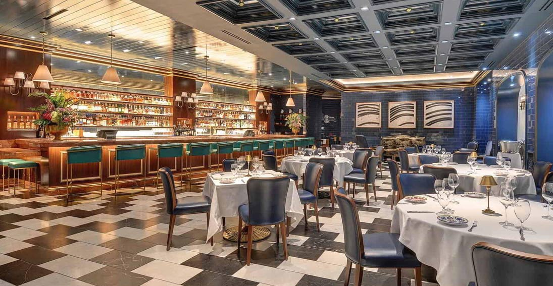 Have dinner at Carbone inside the ARIA Hotel on the Vegas Strip