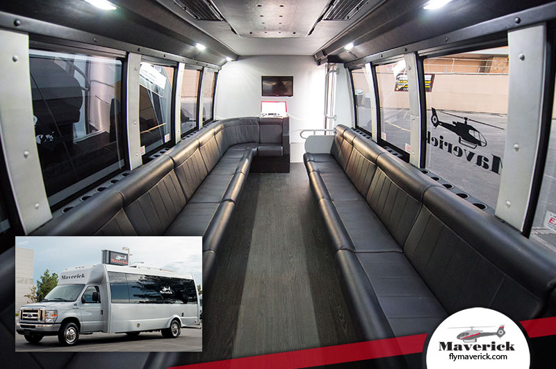 Our limo coaches offer Las Vegas guests a luxury transportation experience.