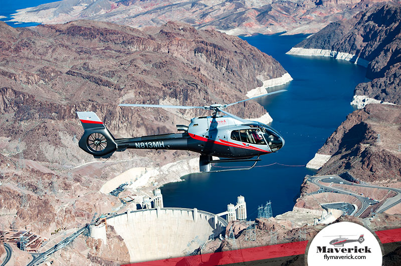 Views Of The Hoover Dam On An Air Tour With Maverick Helicopters