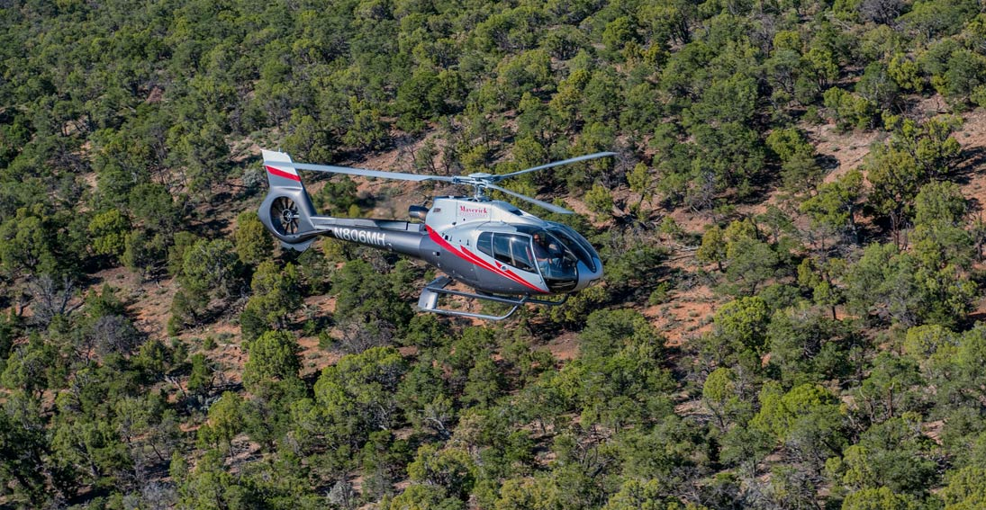 Fly over the beautiful Kaibab National Forest, home to the world's largest stand of ponderosa pines