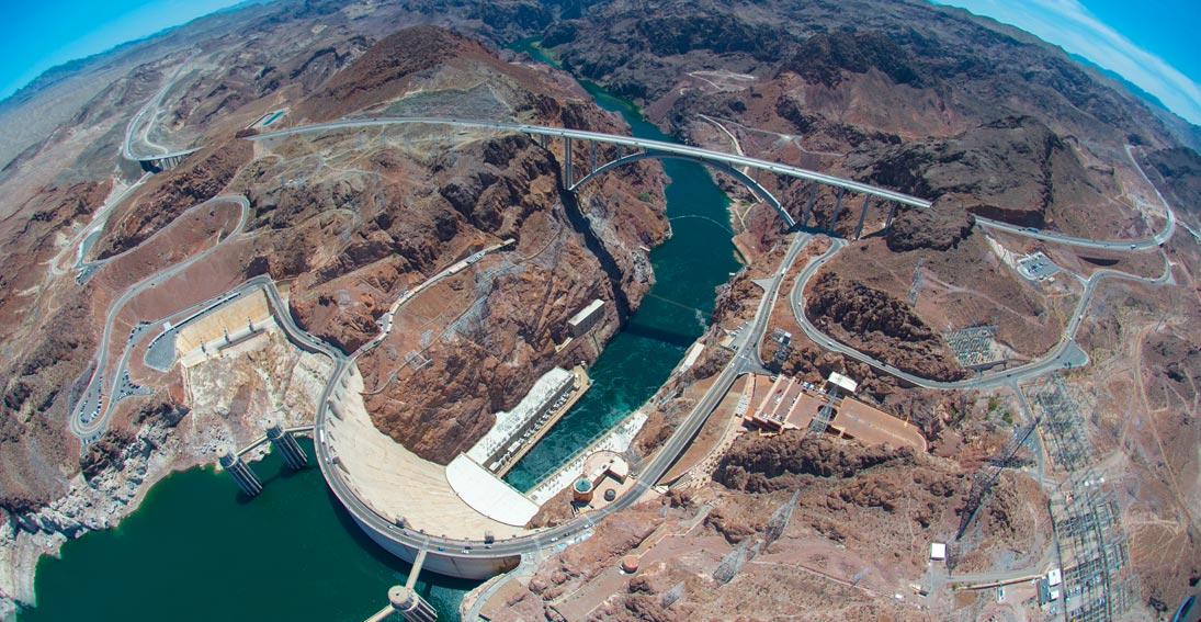 Capture views of iconic Hoover Dam and Lake Mead