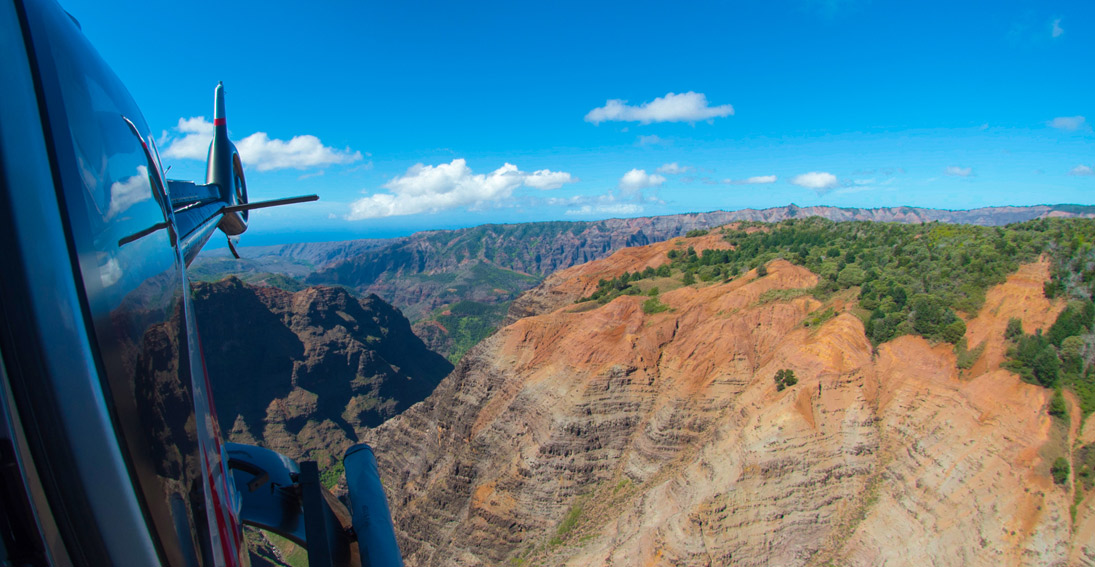 "Waimea Canyon on Kauai also known as ""The Grand Canyon of the Pacific"""