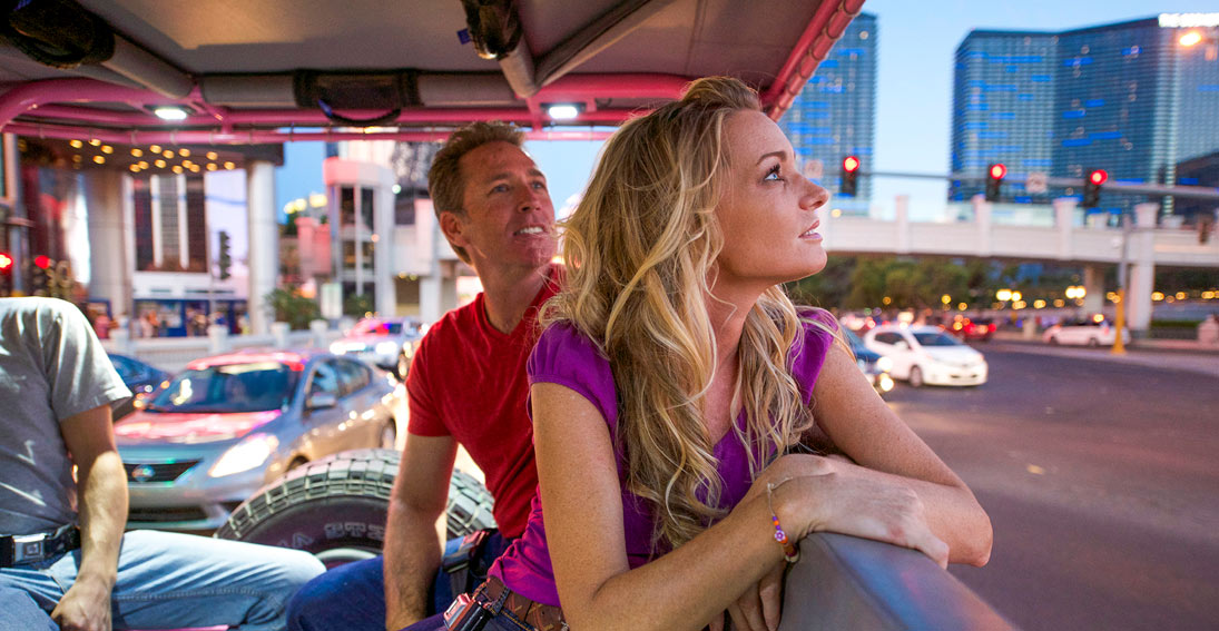 The perfect sightseeing tour of Las Vegas