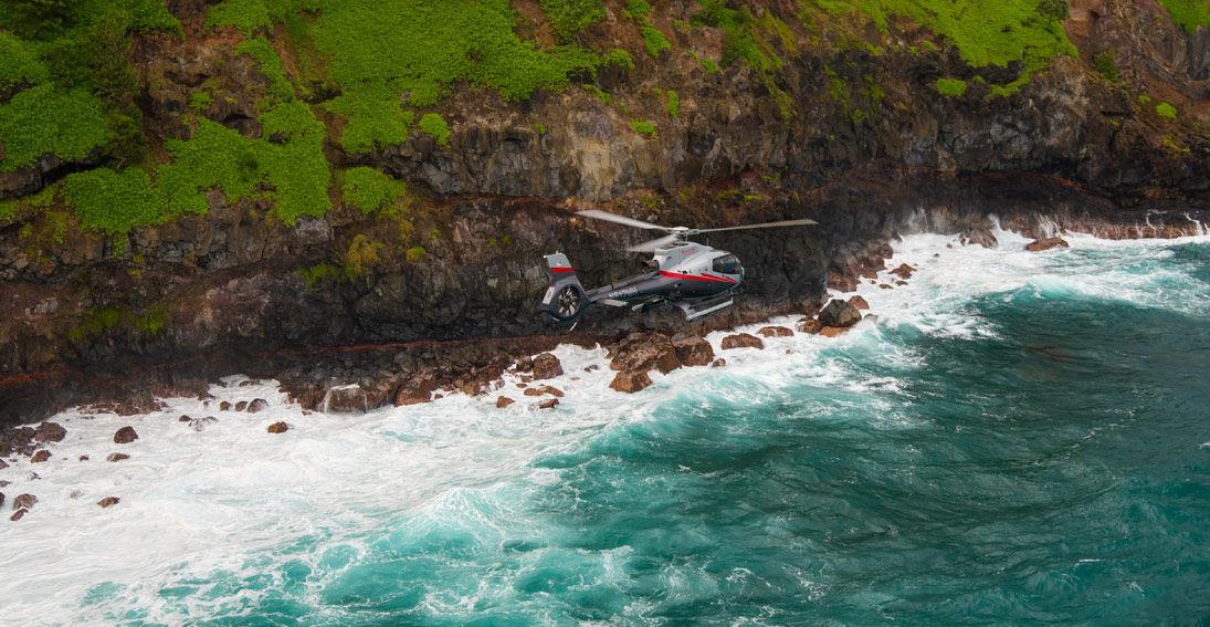 Helicopter tour of Maui with Maverick Helicopters