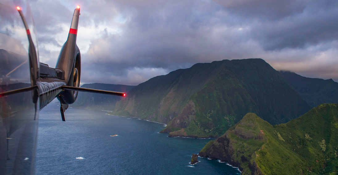 See the views from this West Maui and Molokai helicopter tour with Maverick