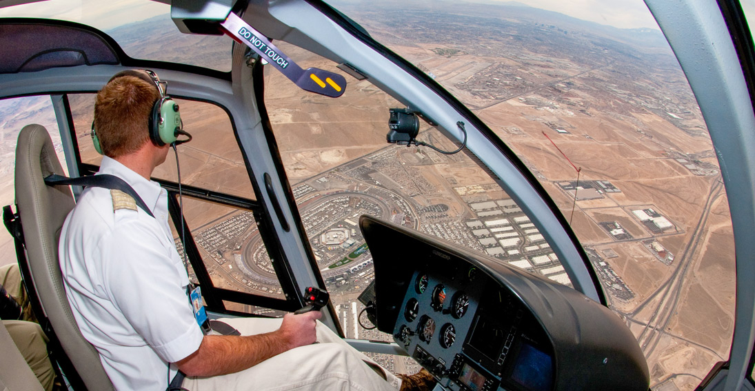 NASCAR helicopter transportation to Las Vegas Motor Speedway
