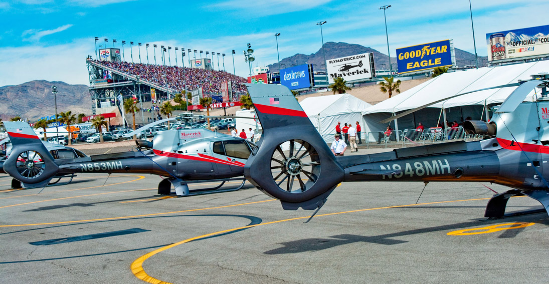 Maverick provides NASCAR helicopter transportation