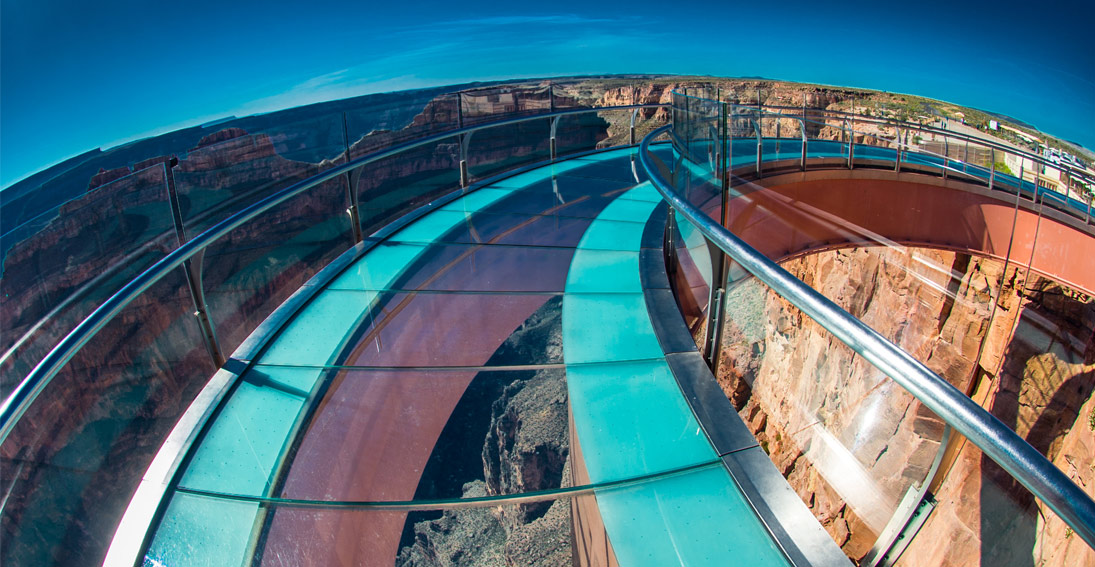 Express Flight to the Skywalk located at Grand Canyon West