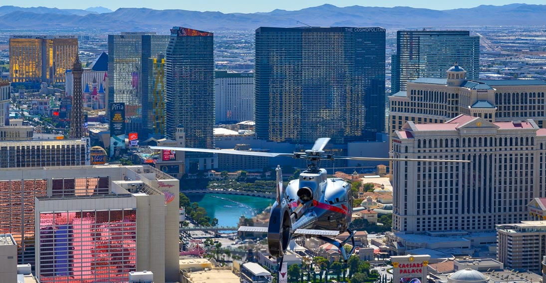 Best helicopter tour of Las Vegas