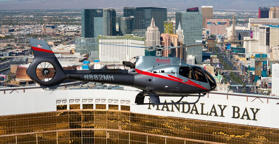 A Las Vegas Strip Helicopter flight
