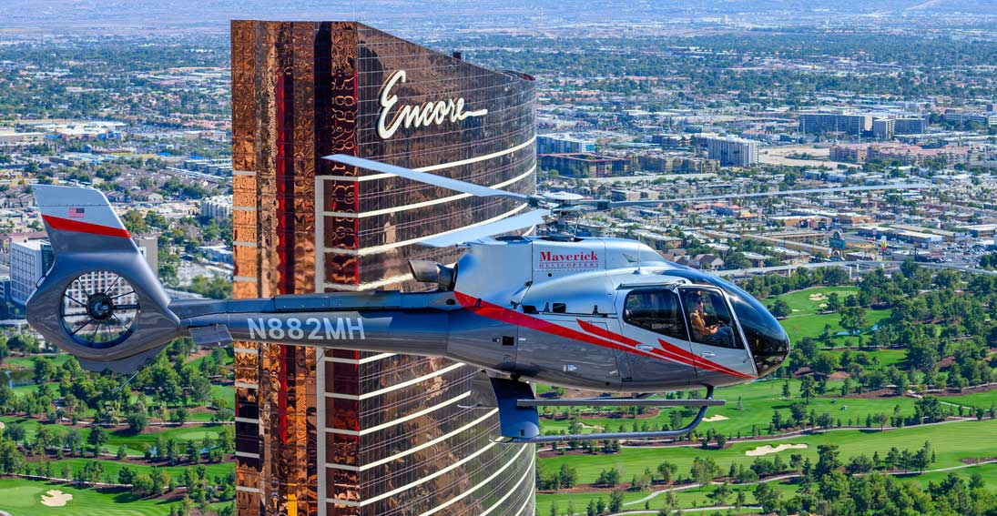 Maverick Helicopters offers private tours
