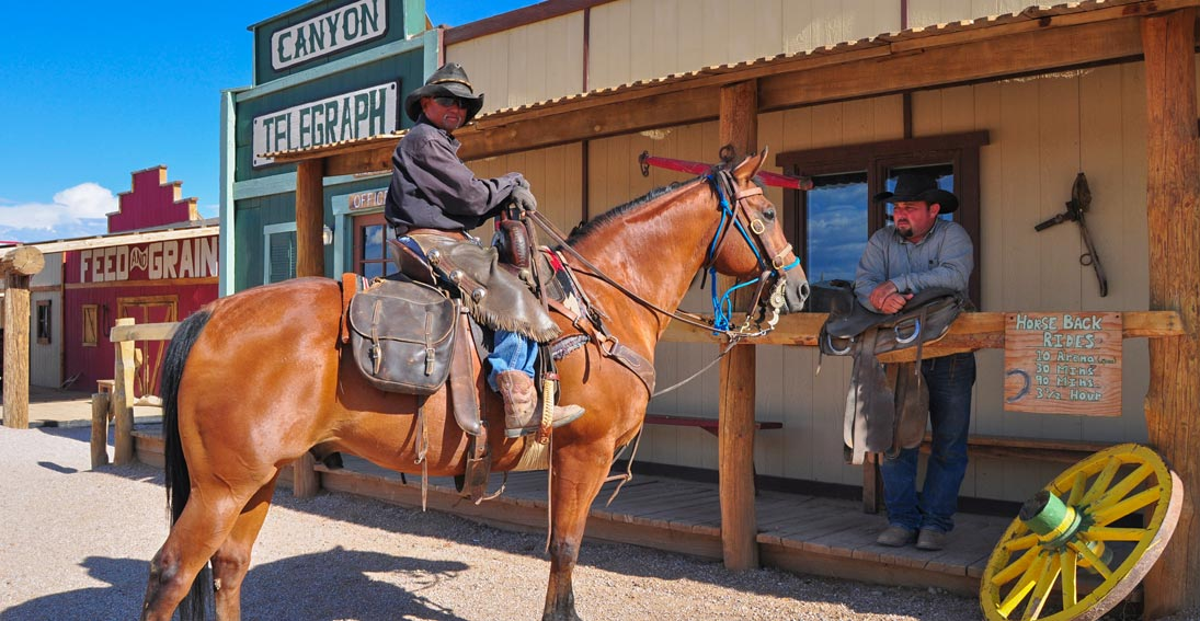 Enjoy the Hualapai Ranch and Western Town