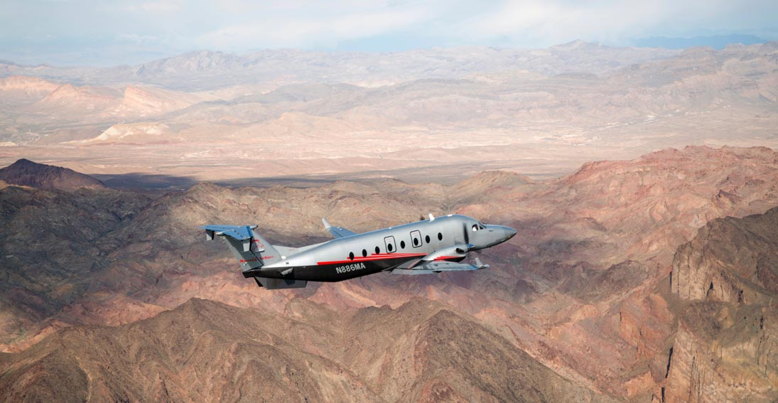 Journey to Grand Canyon West and Skywalk with Maverick Airlines